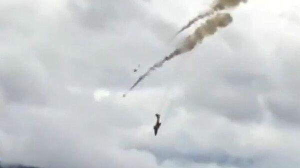 Крушение самолета канадских ВВС в Британской Колумбии