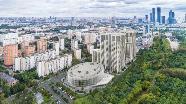 Новая арена Динамо расположенная на улице Василисы Кожиной, 13