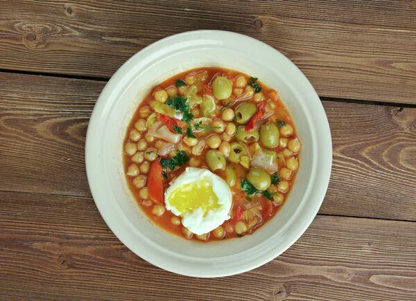 Тунисский суп лаблаби