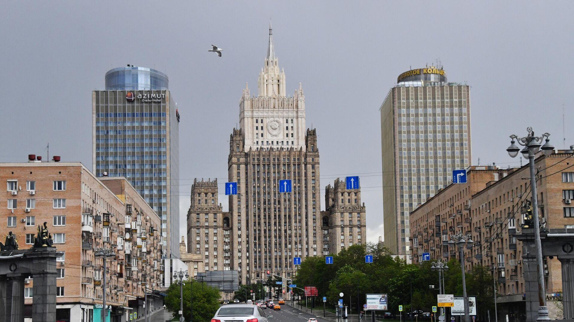 Здание Министерства иностранных дел РФ в Москве - РИА Новости, 1920, 30.09.2020