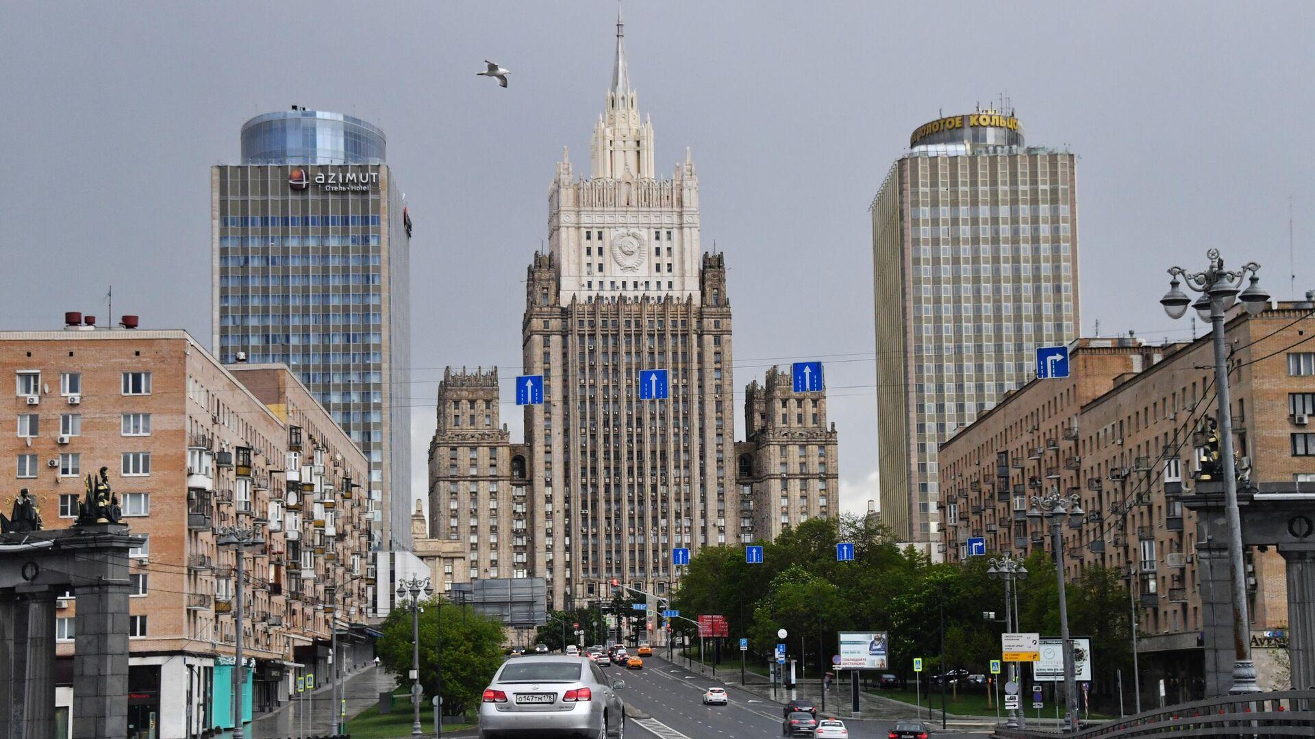 Здание Министерства иностранных дел РФ в Москве - РИА Новости, 1920, 14.07.2020