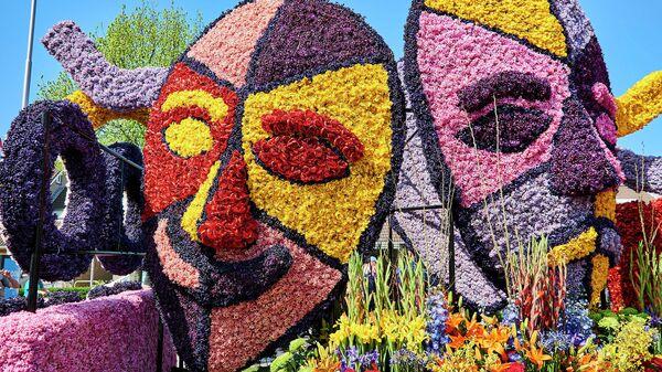 Цветочные парады в Голландии