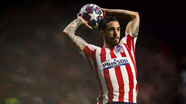 Защитник Атлетико Мадрид Шиме Врсалько