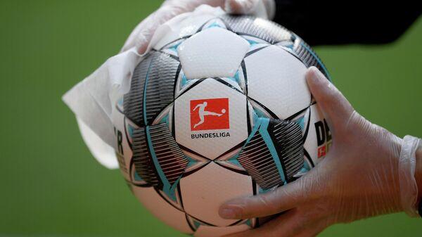 Официальный мяч чемпионата Германии по футболу