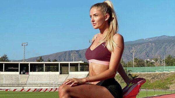 Немецкая легкоатлетка Алиса Шмидт