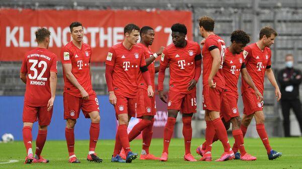 Футболисты мюнхенской Бавария