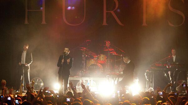 Концерт группы Hurts