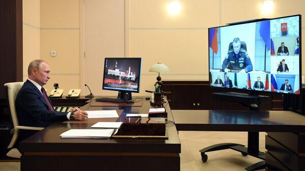Путин в среду пообщается с губернатором Смоленской области