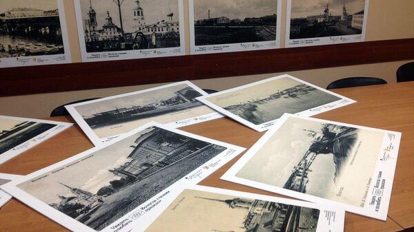 Старые фотографии Вологды, ставшие основой исторических панорам города