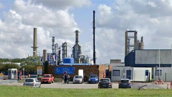 Завод норвежской химической компании Yara в Гонфревиль-л'Орше, Франция