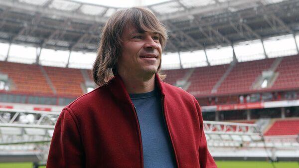Тренер Локомотива Дмитрий Лоськов