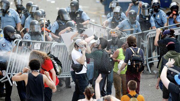 Беспорядки в Миннеаполисе