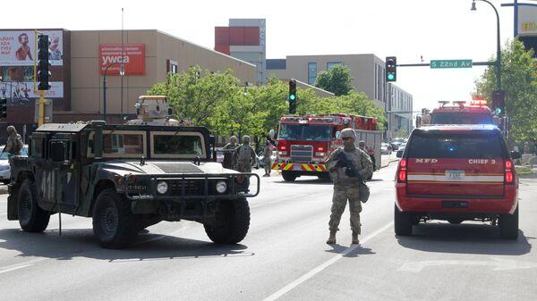 Солдаты Национальной гвардии США