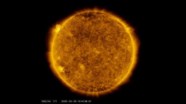 Вспышка М-класса на Солнце. 29 мая 2020
