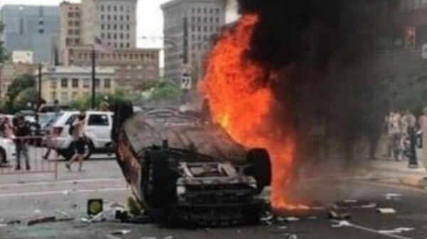 беспорядки в Солт-Лейк-Сити, США, 1 июня 2020