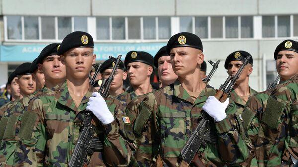Военнослужащие вооруженных сил Республики Молдова