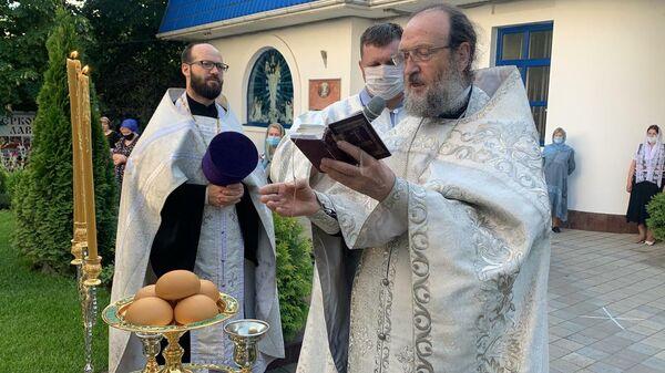 Воскресное богослужение в храме иконы Богоматери Целительница в Краснодаре. 31 мая