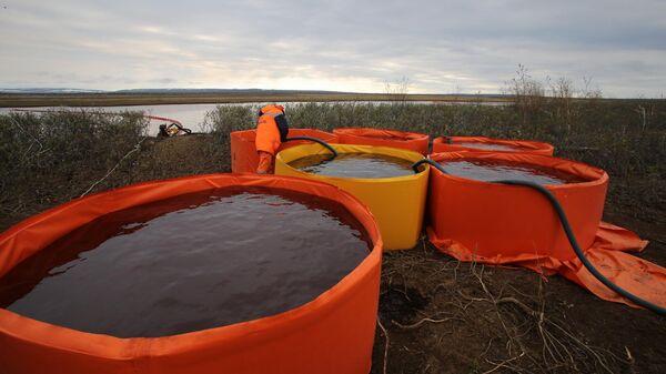 На норильской ТЭЦ снесли до фундамента ставший причиной аварии резервуар