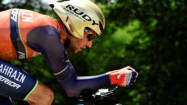 Велогонщик Антонио Нибали (Италия)