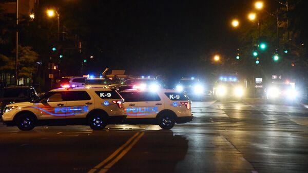 Машины полиции в США