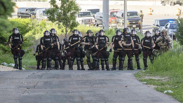 Сотрудники полиции в США