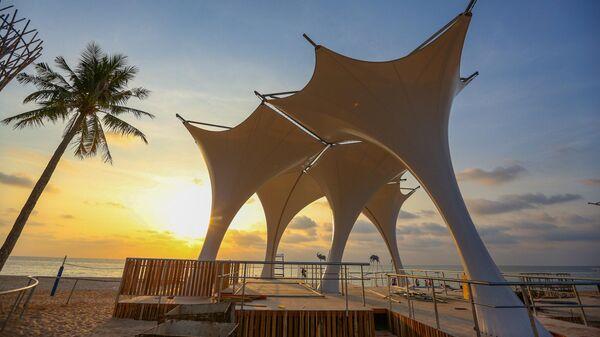Пляж Epizode на острове Фокуоке во Вьетнаме