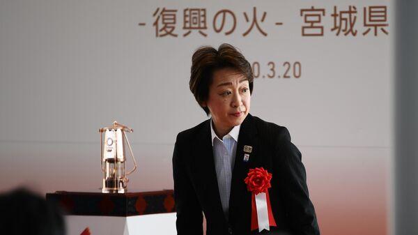 Министр Японии по Олимпийским играм в Токио Хасимото Сэйко