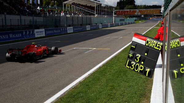 Гран-при Бельгии Формулы-1