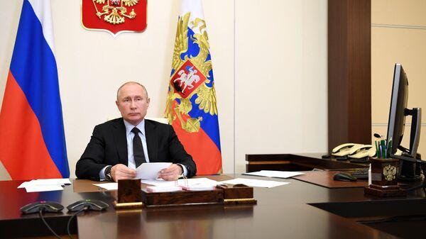 """Путин допустил оговорку, """"придумав"""" новое министерство"""