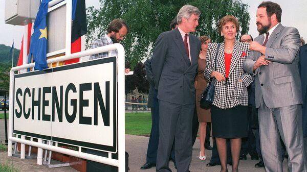 Подписание Шенгенского соглашения, 19 июня 1990 года