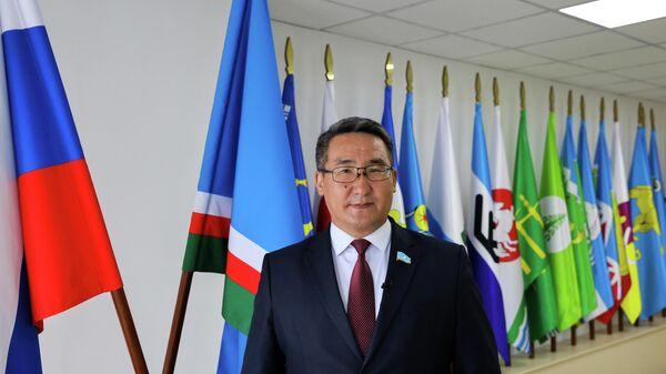 Председатель Государственного собрания (Ил Тумэн) Республики Саха (Якутия) Петр Гоголев