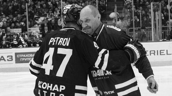 Бывший хоккеист челябинского Трактора Олег Мальцев