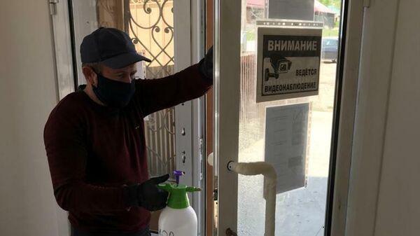 Работа фабрики дверей в Дагестане