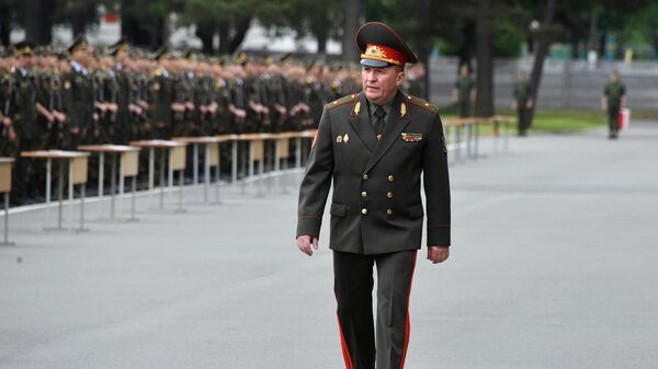 Министр обороны Республики Беларусь Виктор Хренин