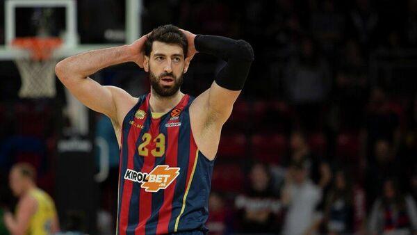 Баскетболист Басконии Торнике Шенгелия