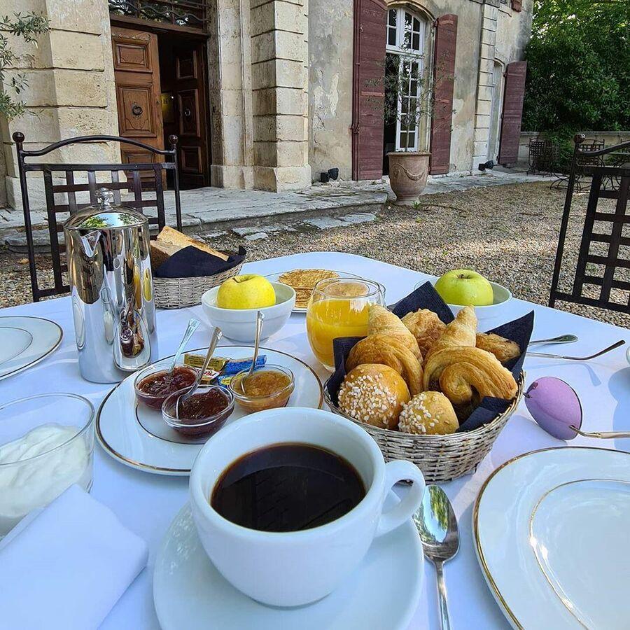 Французский завтрак в Провансе