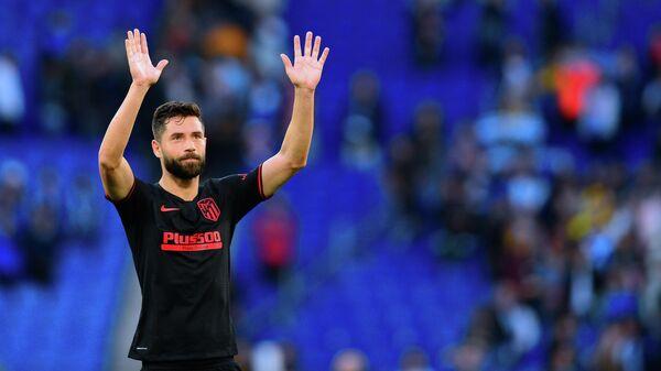 Защитник мадридского Атлетико Фелипе Монтейро