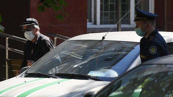 Актёр Михаил Ефремов доставлен на допрос по делу о ДТП в главное следственное управление ГУ МВД России по Москве