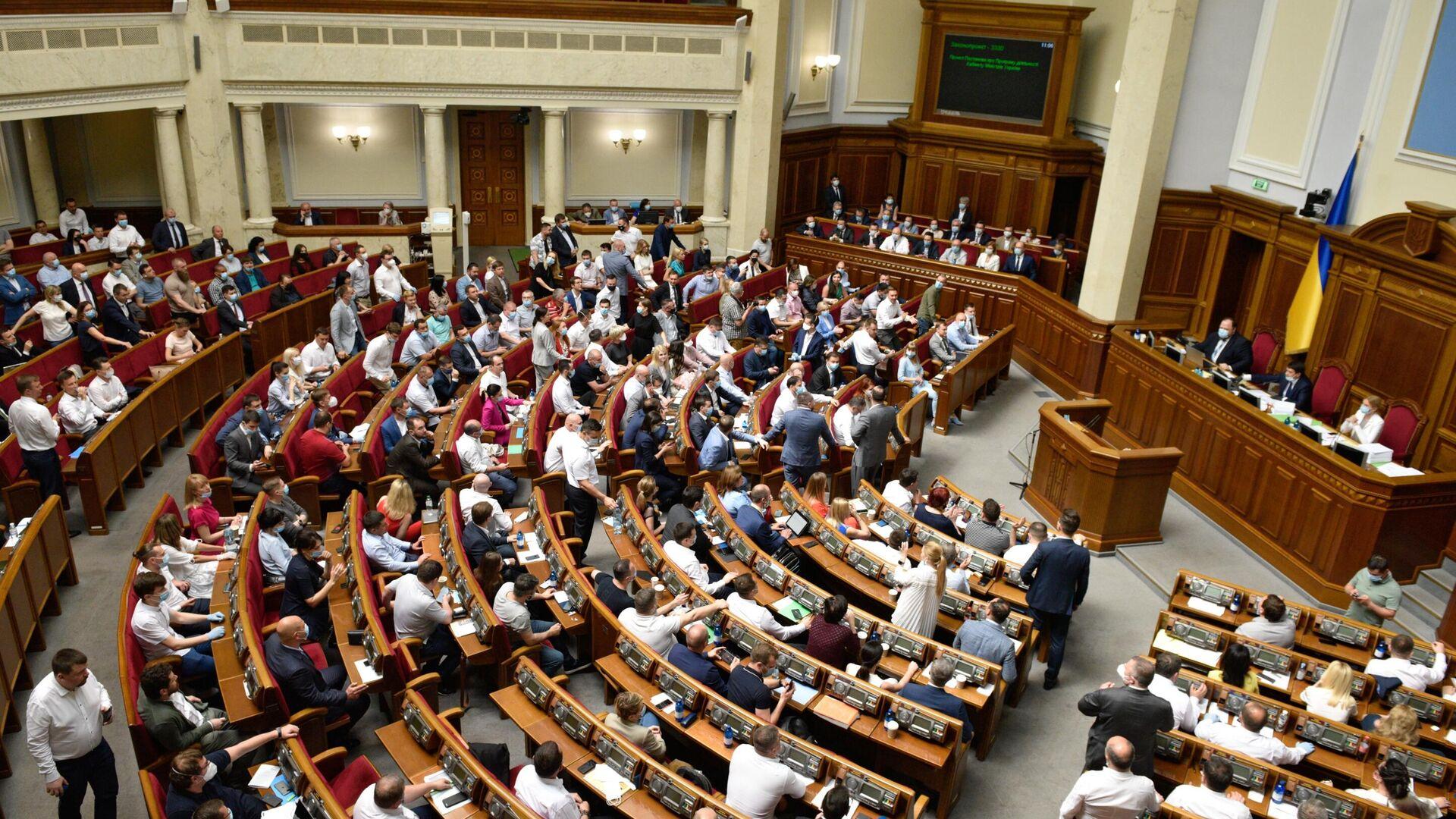 Заседание Верховной рады Украины - РИА Новости, 1920, 11.05.2021