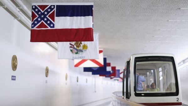 Государственный флаг американского штата Миссисипи