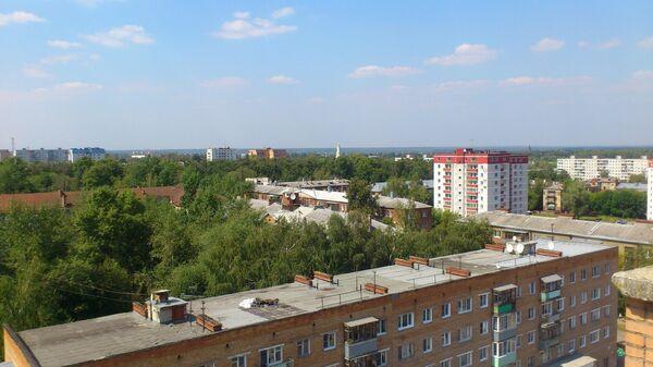 Вид города Павловский Посад