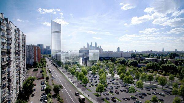 Проект Национального космического центра в Москве