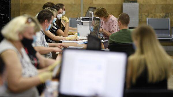 Работа приемной комиссии в московских университетах