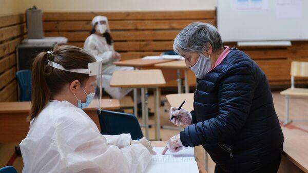 Избирательный участок в Екатеринбурге