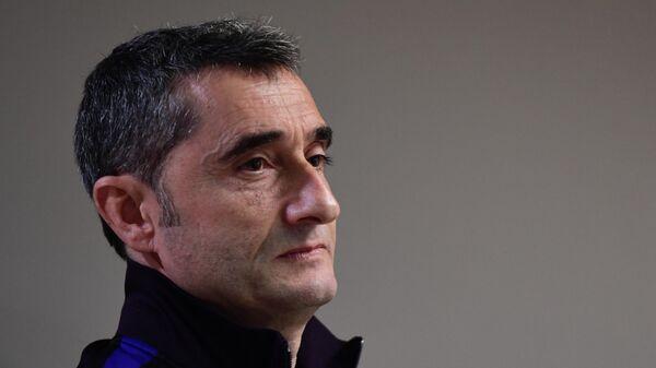 Бывший главный тренер Барселоны Эрнесто Вальверде
