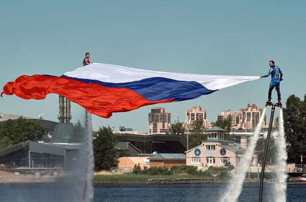 Празднование Дня России
