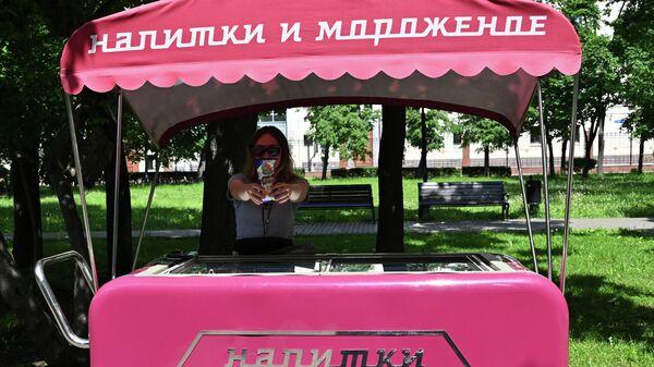 В России упали продажи кваса и мороженого