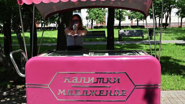 Продажа мороженого в Москве