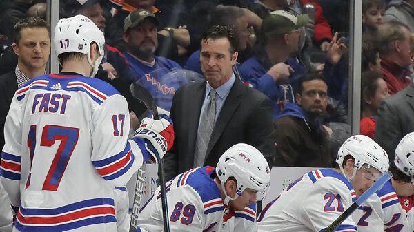 Главный тренер клуба НХЛ Нью-Йорк Рейнджерс Дэвид Куинн