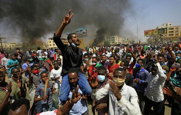 Протесты в Хартуме, Судан